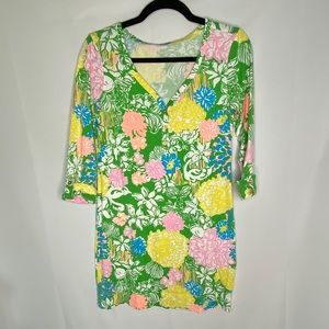 Lily Pulitzer Palmetto Dress In Hibiscus Stroll